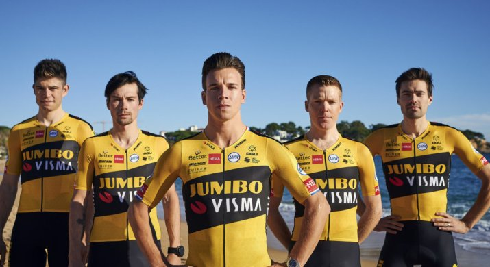 Team Jumbo-Visma - Maillot 2020