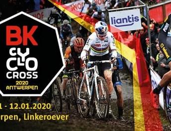 Affiche - Championnats de Belgique de cyclo-cross 2020