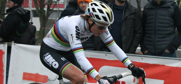 Sanne Cant - Cyclo-cross de Bruxelles 2020 - Grégory Ienco