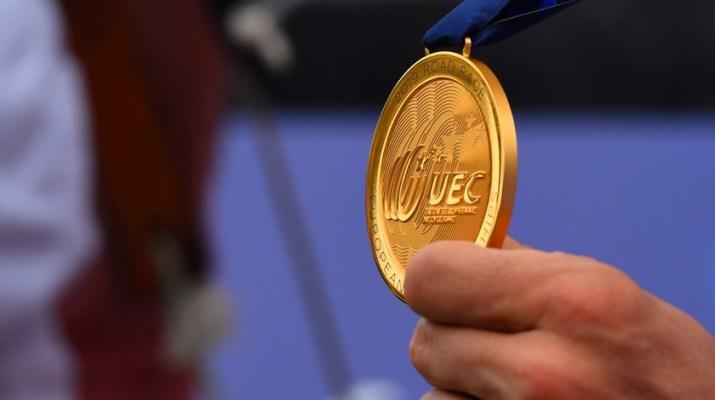 Médaille d'or Championnats d'Europe cyclisme sur route 2020 - UEC