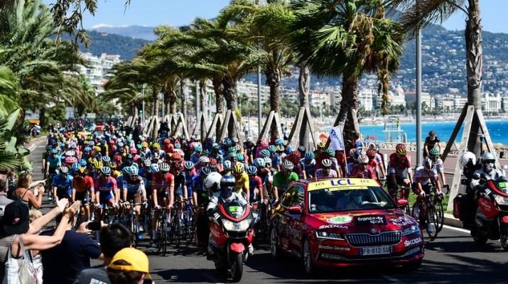 Peloton - Départ 2e étape Tour de France 2020 - ASO Alex Broadway