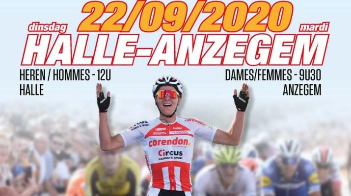 Affiche - Championnats de Belgique sur route 2020 Anzegem