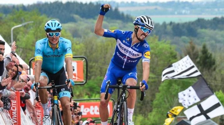 Julian Alaphilippe - Vainqueur Flèche Wallonne 2019 - ASO Gautier Demouveaux