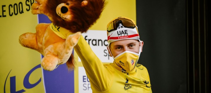 Tadej Pogacar - Maillot jaune 20e étape Tour de France 2020 - ASO Pauline Ballet