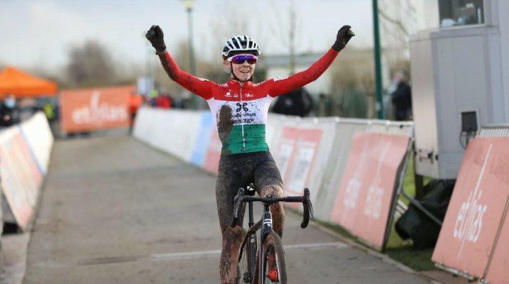 Blanka Kata Vas Vainqueur - Cyclo-cross Bredene 2020 - Alain Vandepontseele