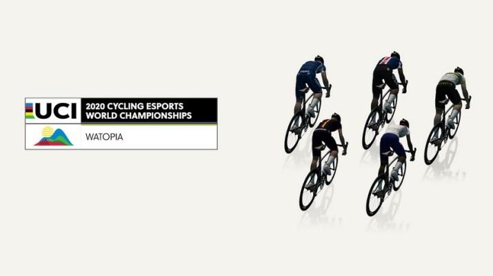 Zwift - Championnats du monde 2020 Cyclisme E-sport UCI