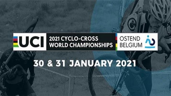 Affiche - Championnats du monde de cyclo-cross 2021 Ostende