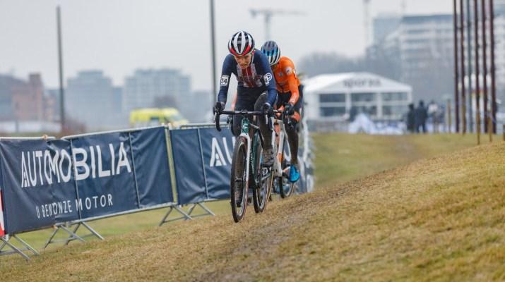 Clara Honsinger et Ceylin Del Carmen Alvarado - Championnats du monde cyclo-cross 2021 - Alain Vandepontseele