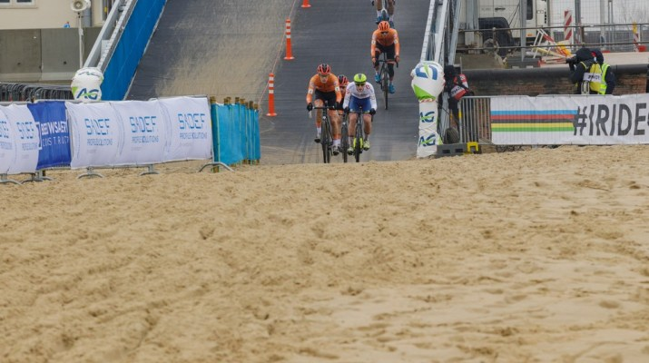 Descente du pont Espoirs Bis - Championnats du monde cyclo-cross 2021 - Alain Vandepontseele