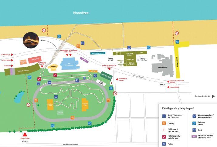 Parcours - Championnats du monde de cyclo-cross 2021