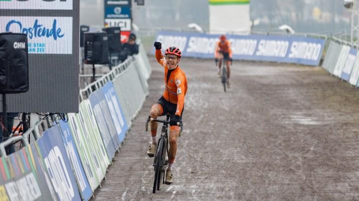 Pim Ronhaar vainqueur - Championnats du monde cyclo-cross 2021 - Alain Vandepontseele