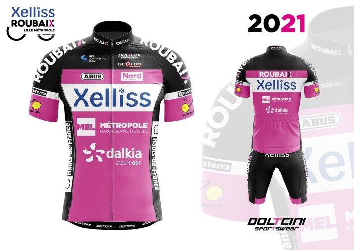 Xelliss Roubaix Lille Métropole - Maillot 2021
