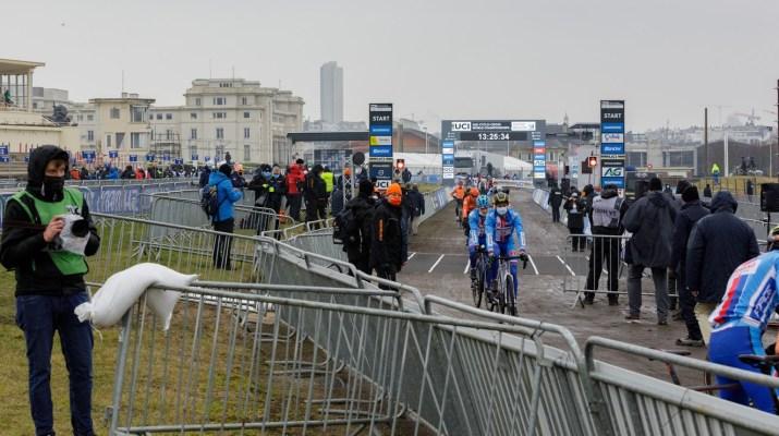 Zone de départ - Championnats du monde cyclo-cross 2021 - Alain Vandepontseele