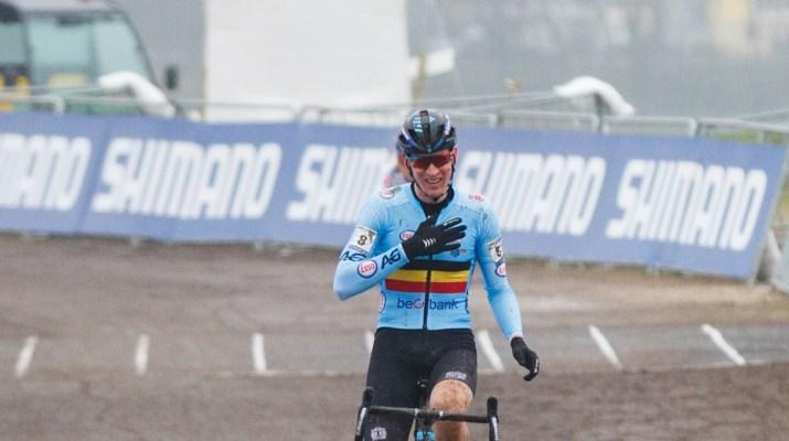 Toon Aerts Troisième - Championnats du monde de cyclo-cross 2021 - Alain Vandepontseele