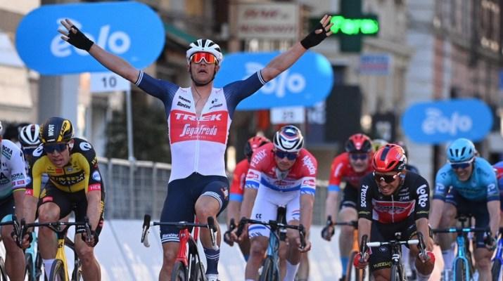 Jasper Stuyven - Vainqueur Milan-Sanremo 2021 - RCS Sport La Presse D'Alberto