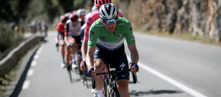 Sam Bennett Maillot Vert - 7e étape Paris-Nice 2021 - ASO Fabien Boukla