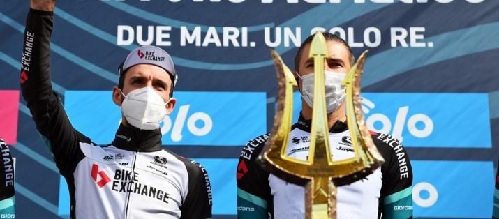 Simon Yates - Départ 4e étape Tirreno-Adriatico 2021 - RCS Sport La Presse Gian Mattia D'Alberto