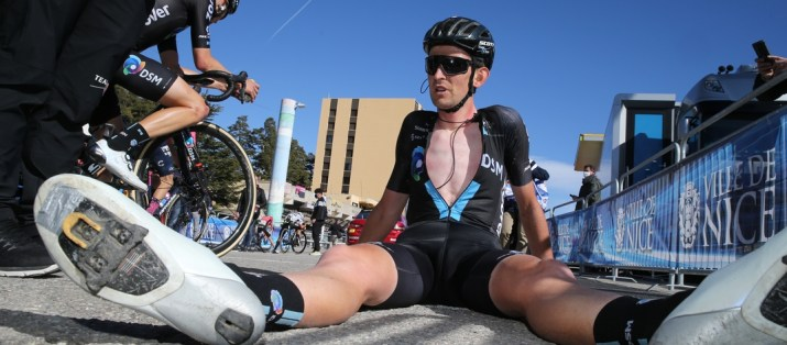 Tiesj Benoot Fatigue - 7e étape Paris-Nice 2021 - ASO Fabien Boukla
