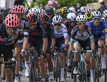 Peloton 8e étape Tour d'Italie 2021 - RCS Sport La Presse Fabio Ferrari