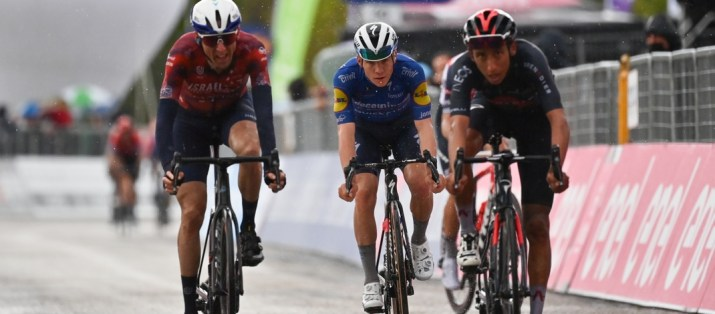 Daniel Martin Remco Evenepoel Egan Bernal - 6e étape Tour d'Italie Giro 2021 - RCS Sport La Presse Massimo Paolone