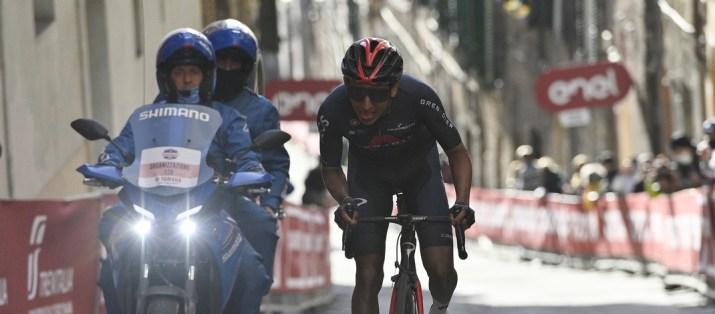 Egan Bernal - Strade Bianche 2021 - RCS Sport La Presse Marco Alpozzi