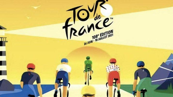 Affiche Tour de France 2021 - Bretagne