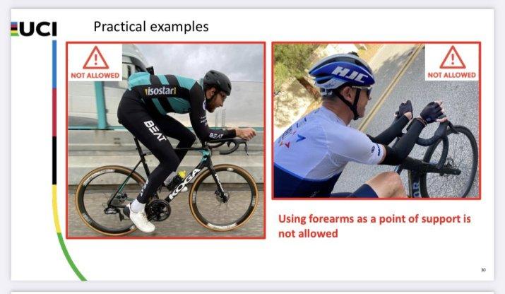 Règlement UCI - Positions interdîtes - BEAT Cycling