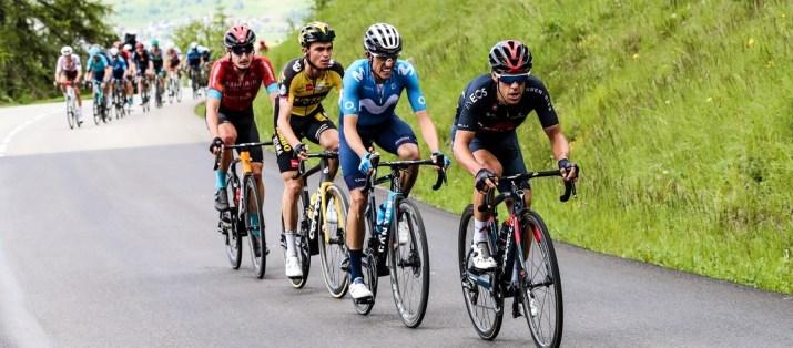 Attaque Richie Porte Enric Mas Sepp Kuss Jack Haig - 7e étape Critérium du Dauphiné 2021 - ASO Fabien Boukla
