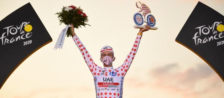 Tadej Pogacar - Maillot à pois Tour de France 2020 - ASO Pauline Ballet
