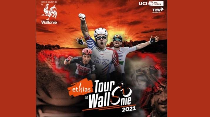 Affiche - Tour de Wallonie 2021