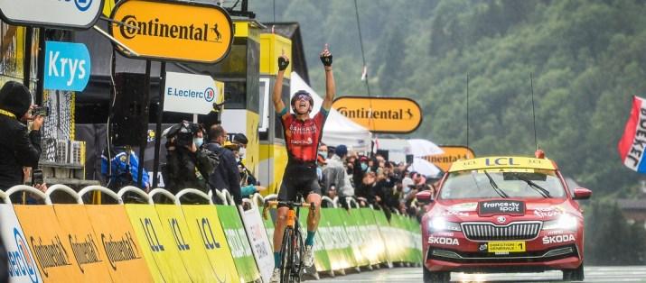 Dylan Teuns - Vainqueur 8e étape Tour de France 2021 - ASO Charly Lopez
