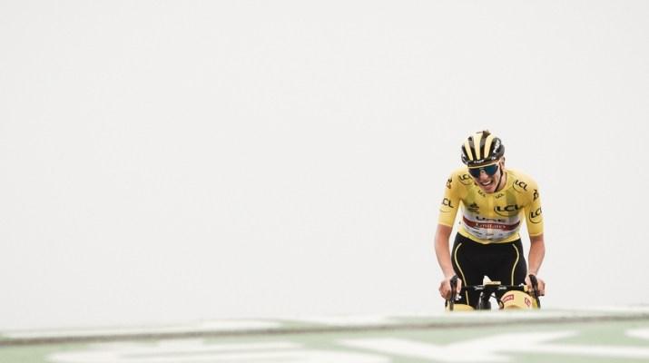 Tadej Pogacar - Vainqueur Col du Portet - 17e étape Tour de France 2021 - ASO Pauline Ballet