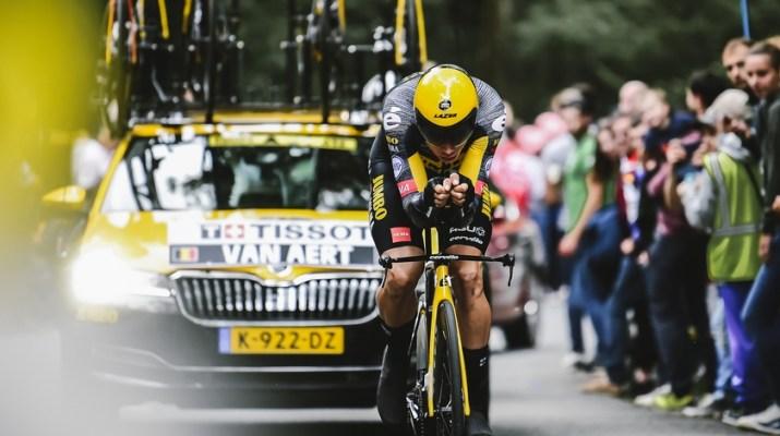 Wout van Aert Contre-la-montre - 5e étape Tour de France 2021 - ASO Pauline Ballet