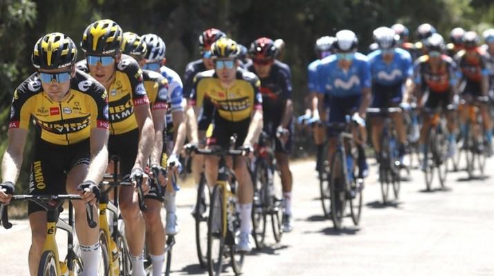 Peloton Jumbo-Visma - 3e étape Tour d'Espagne Vuelta 2021 - ASO Gomez Sport Luis Angel Gomez