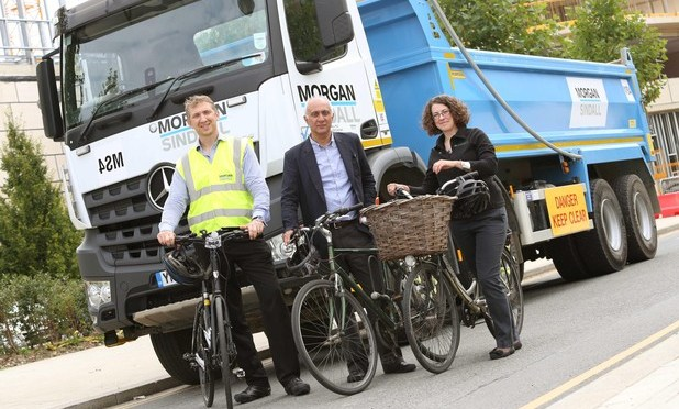 Cambridge University launches lorry safety scheme to protect cyclists and pedestrians
