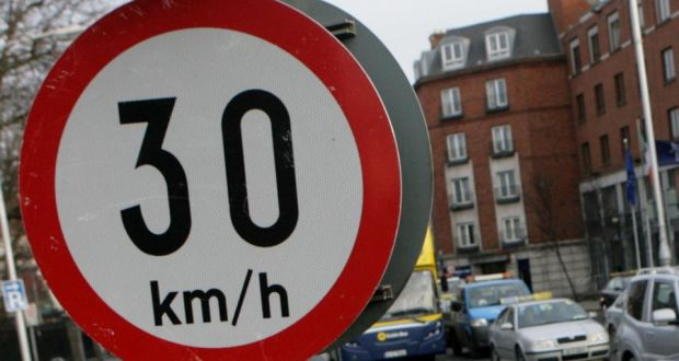 Cutting speed limits to 30km/h reduces road accidents