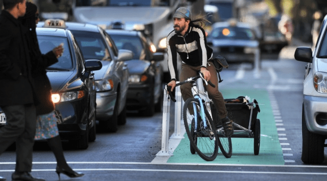 Let's talk seriously about why cyclists break traffic laws