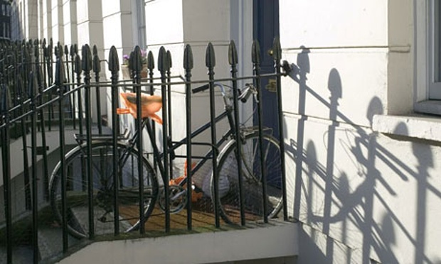 Bike security: the home front