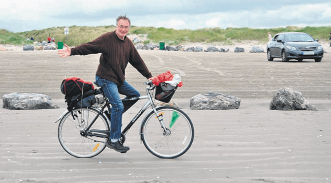 New cycling chairman gets on the saddle