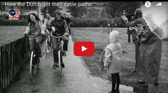 How the Dutch got their cycling infrastructure