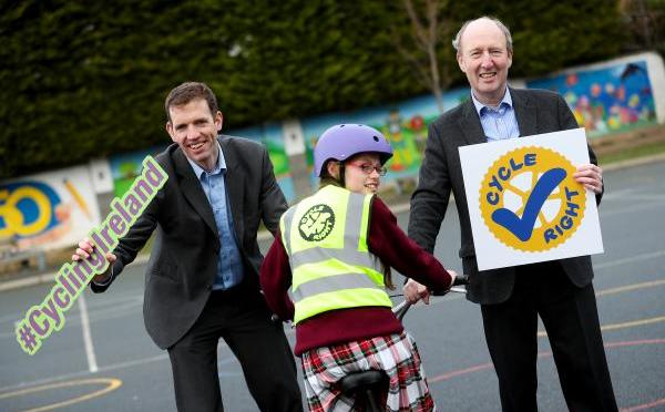 Cycle Right Launched by Minister Ross