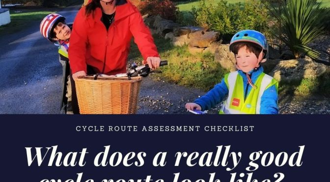 CRAC: Cycle route assessment checklist