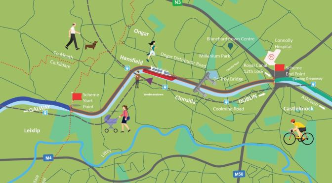 Royal Canal Greenway – Clonsilla Stretch – Cyclist.ie Submission