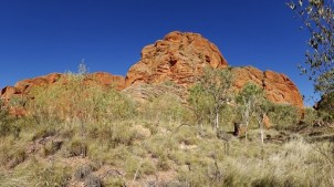 Imposing geology