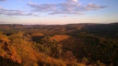 Sunset from Saddleback Ridge