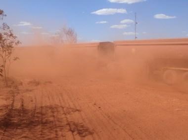 Auski dust bowl + roadtrain