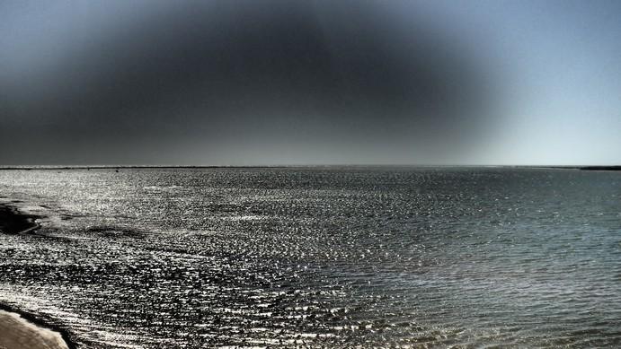 Gascoyne River meets Ocean