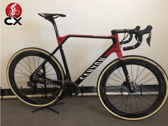 new team bike for mathieu van der poel