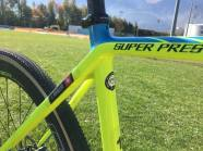Rouiller rides on Challenge Dune Tubulars for this race. In the 33mm Width on the Team Edition Soft Casing. Note the nice personal touch of name and Swiss Flag