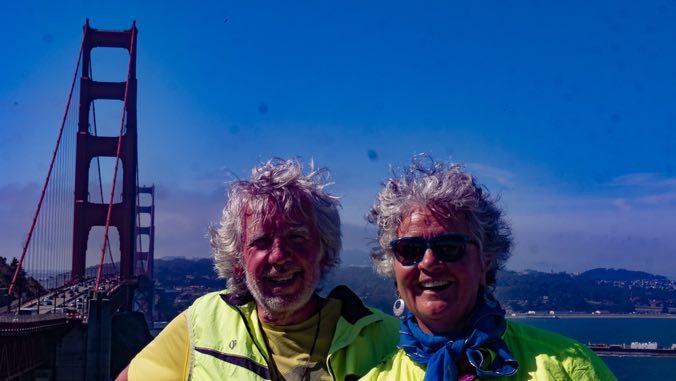 San Francisco, une maison bleue...